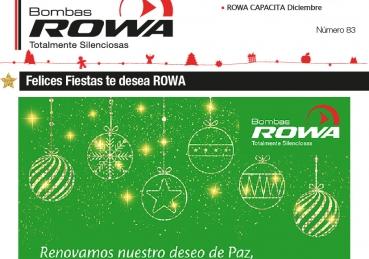 Felices Fiestas le desea Rowa